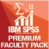 SPSS Premium Statistics Software Icon