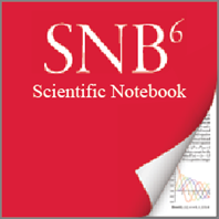 Scientific Notebook Software Icon