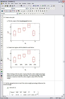 Mathcad 15 Screenshot