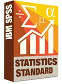 SPSS Standard Statistics Software Box