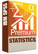 SPSS Premium Statistics Software Box