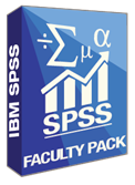 SPSS Faculty Packs Software Box