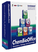 ChemBioOffice Software Box