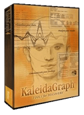 KaleidaGraph Software Box