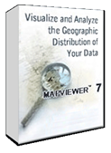 MapViewer Software Box