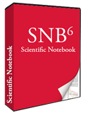 Scientific Notebook Software Box